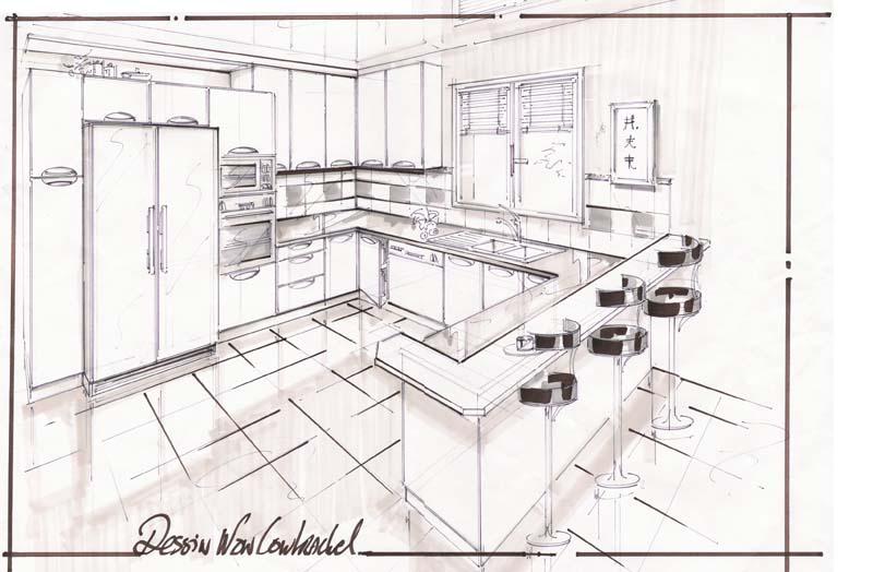 Dessiner Un Plan De Cuisine Top Dessiner Plan De Maison
